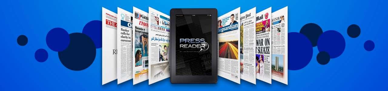 Pressreaders logga