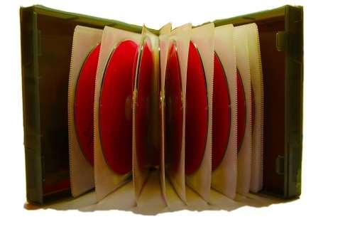 Bild på en ljudbok med cd-skivor
