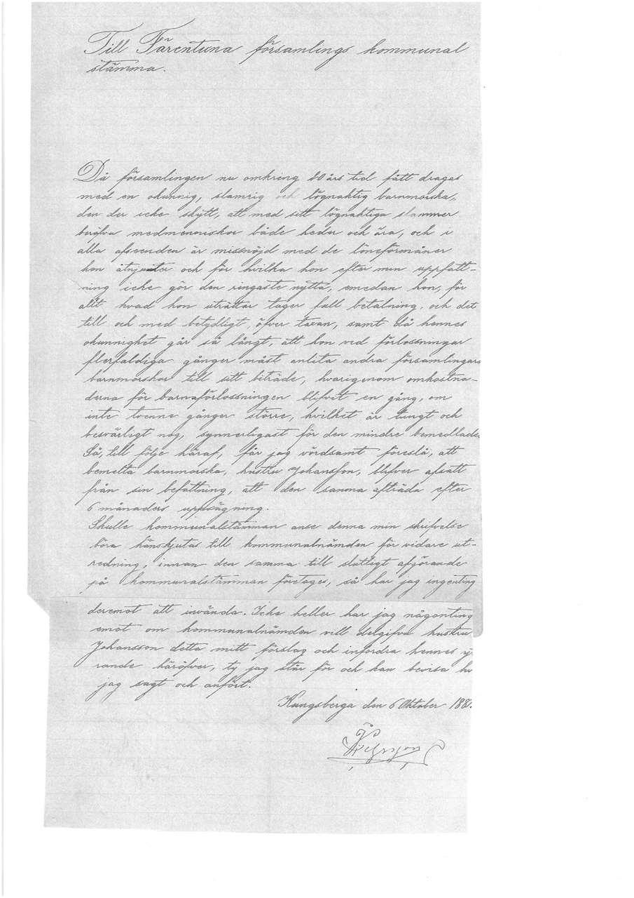 Inscannat arkivdokument